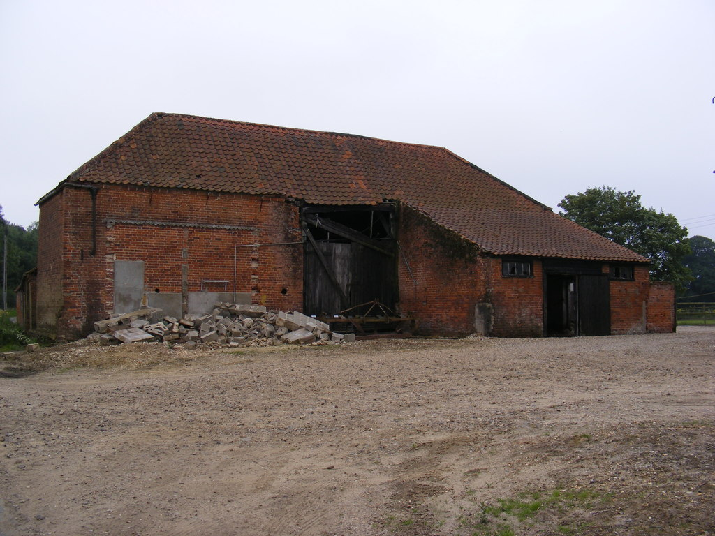 Image showing a stone barn for conversion