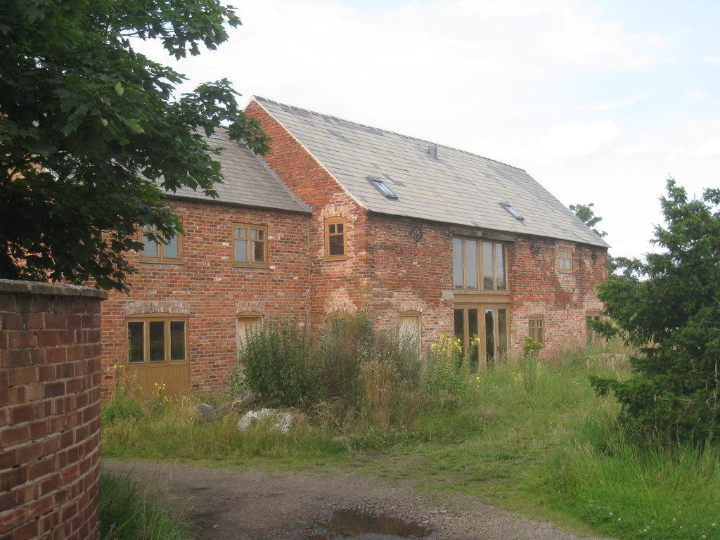 Image showing a completed barn conversion