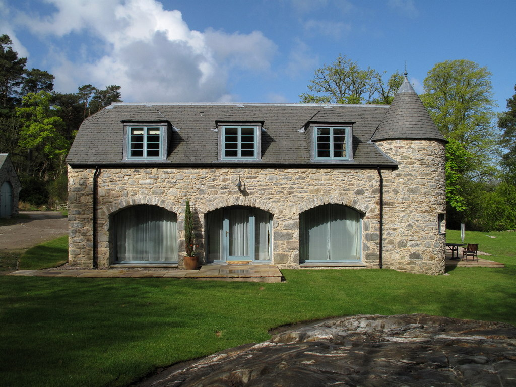 Image showing a converted barn in England