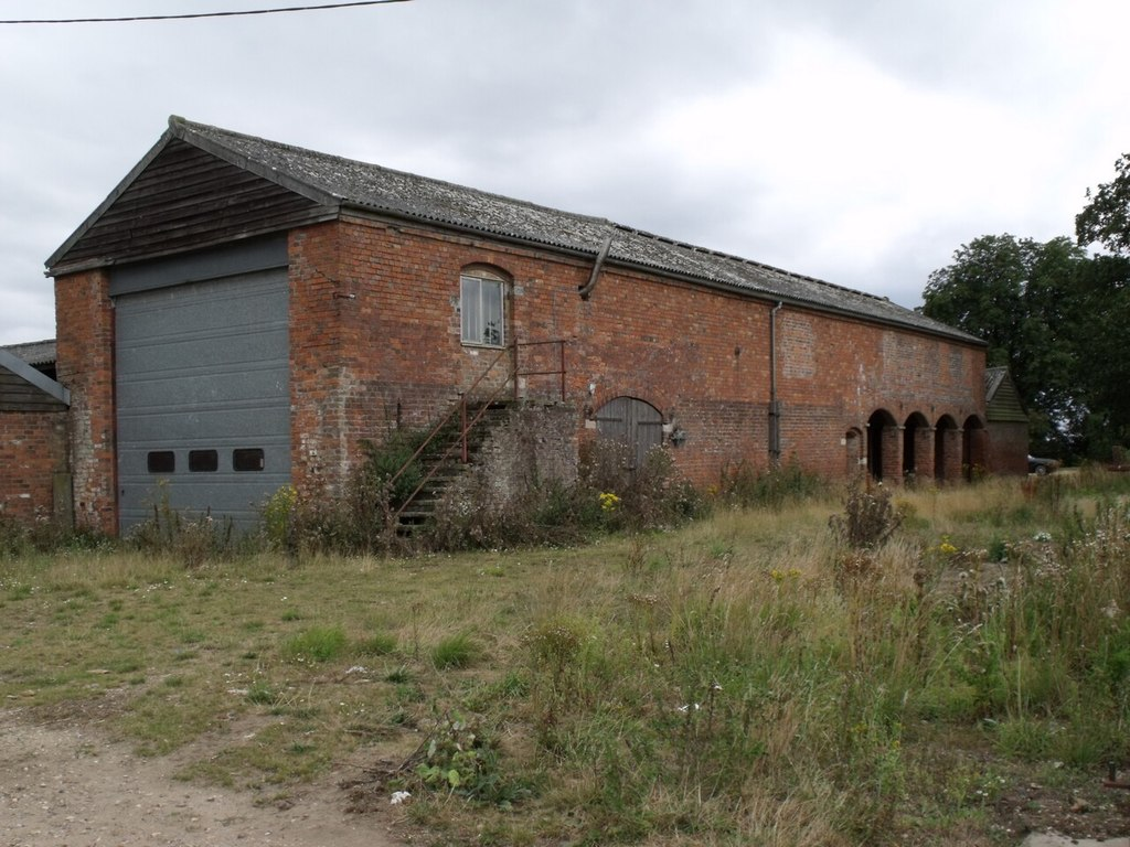 Image showing an unconverted stone barn