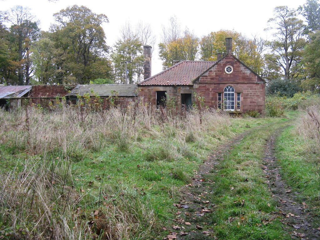 Image showing a completely empty property in the countryside