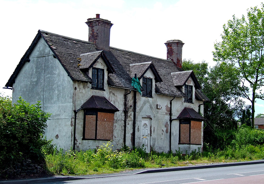 Image showing a derelict house suitable for complete renovation