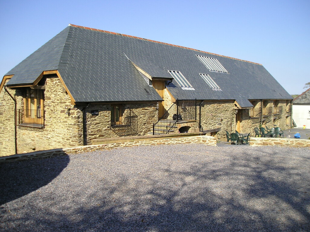 Image showing a barn conversion for sale