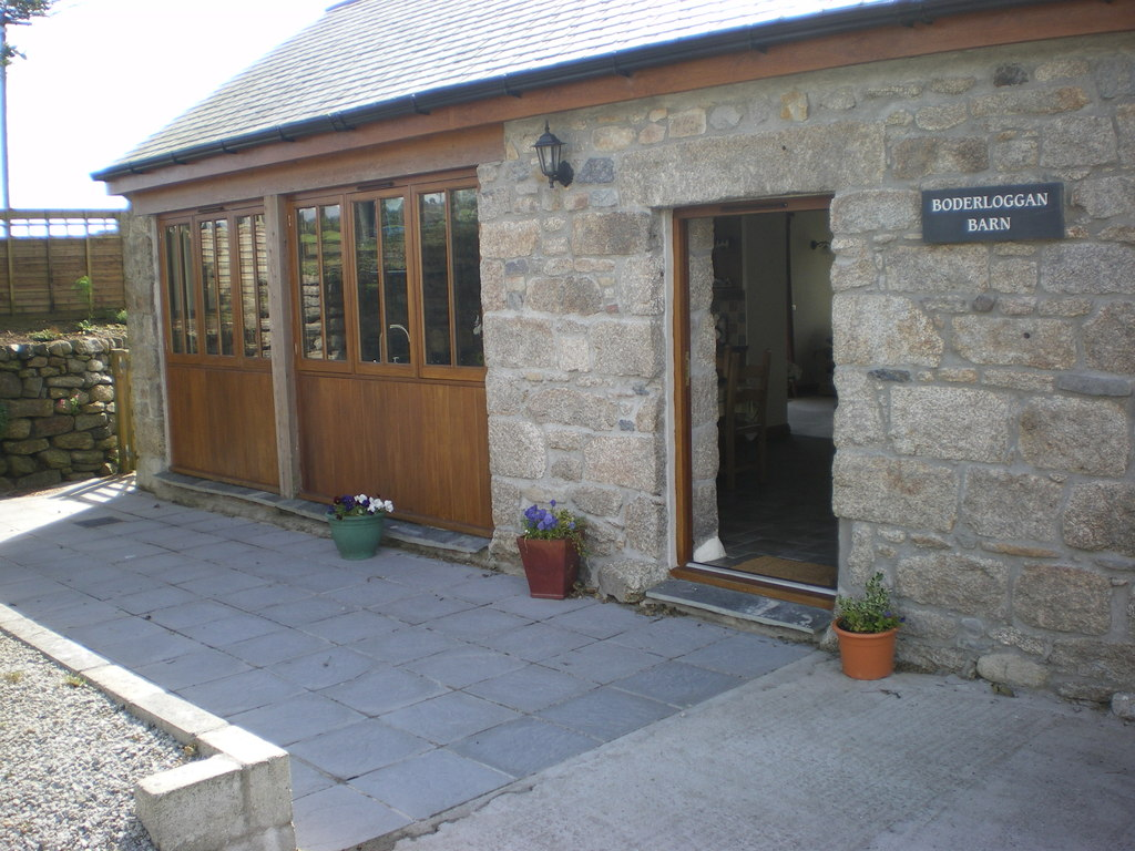 Image showing a completed barn conversion in the UK
