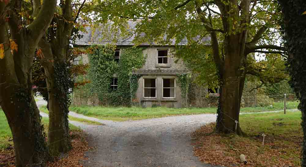 Image showing rundown house for sale