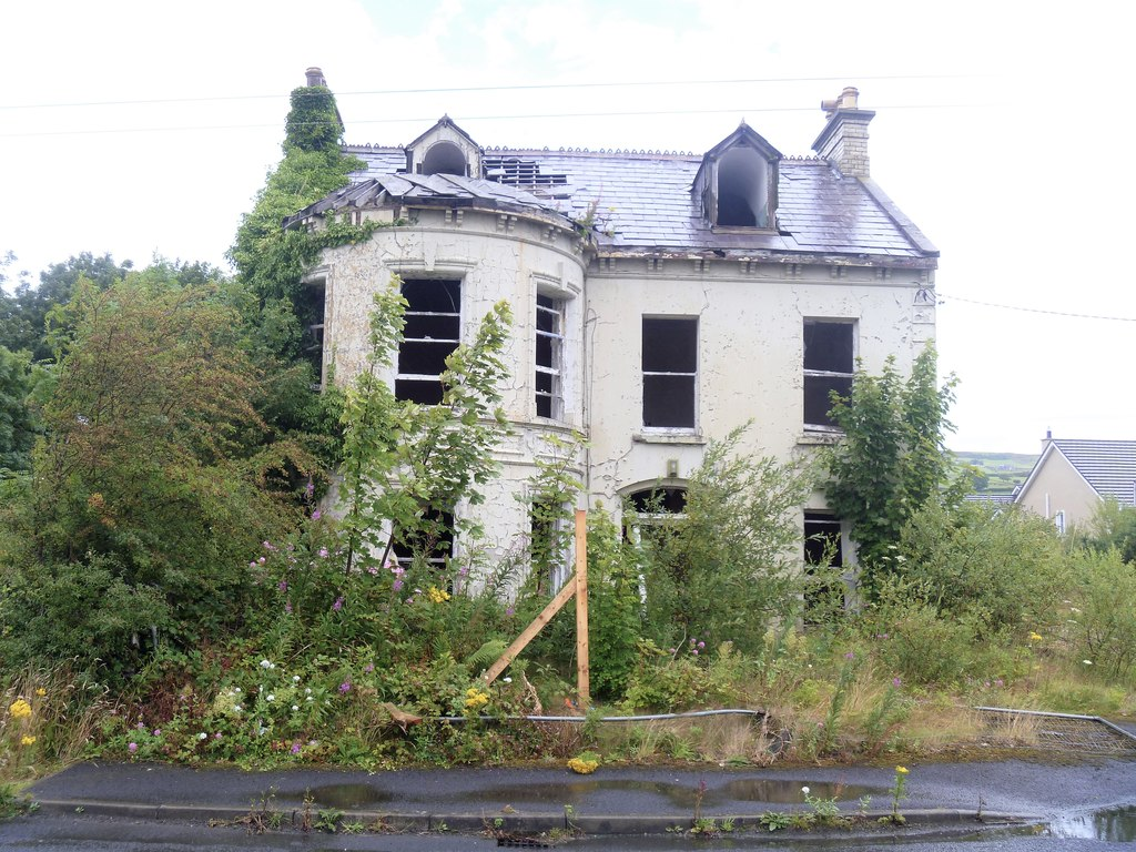 Image showing a derelict property in England