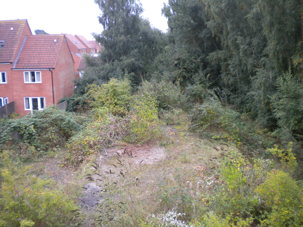 Image showing derelict land without current planning permission