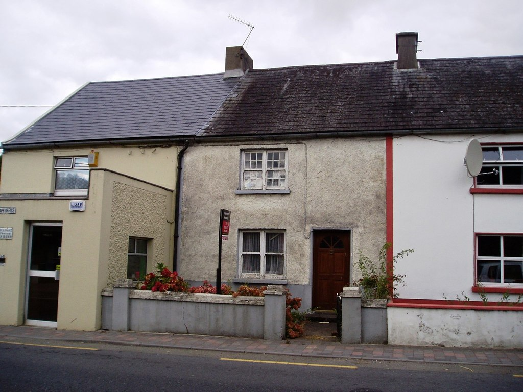 Image showing houses in need of renovation