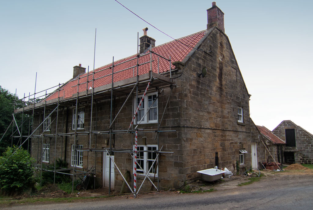Image showing a property being renovated