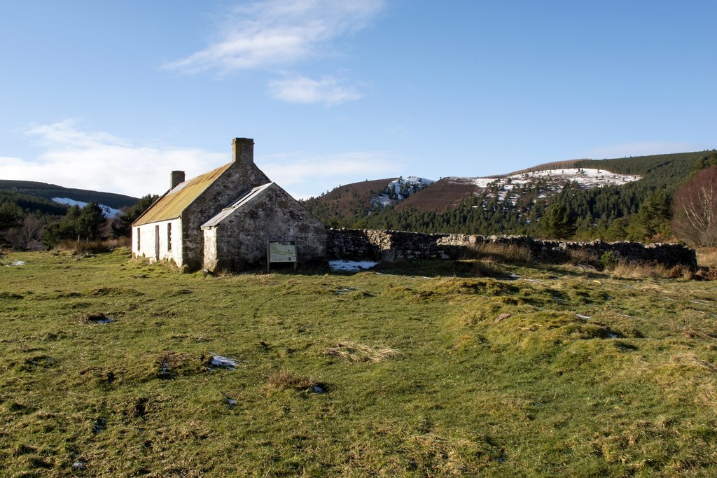 Image showing a croft in Scotland