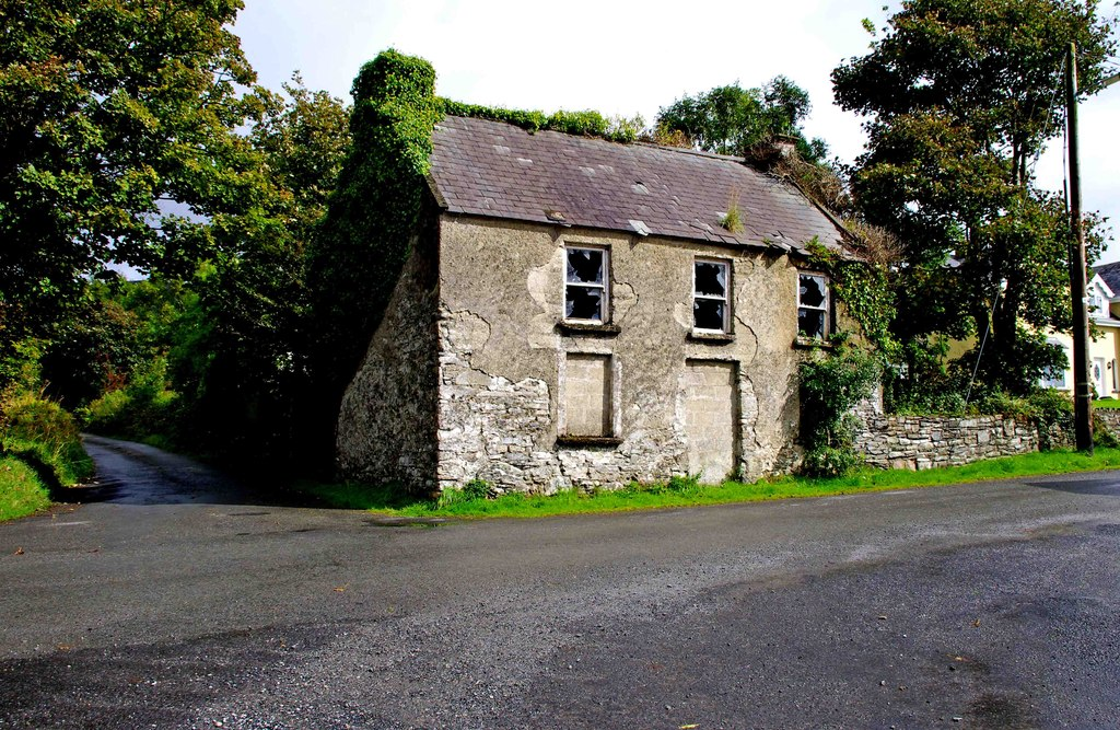 Image showing a beautiful derelict cottage