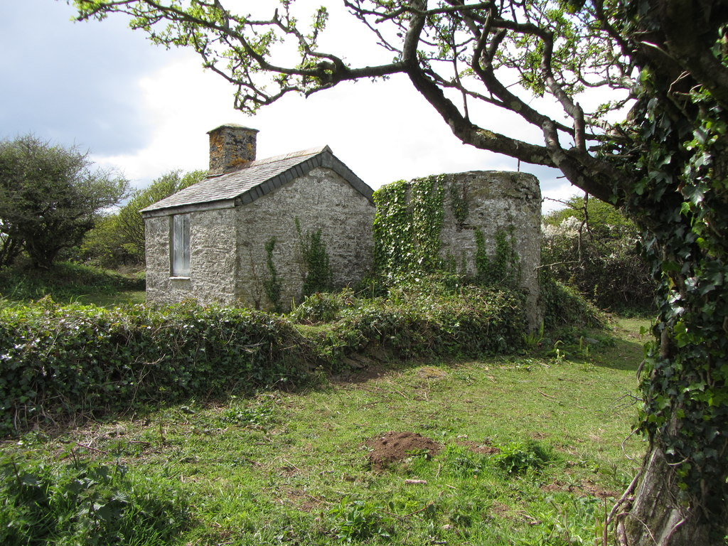 Image showing a derelict building in Cornwall