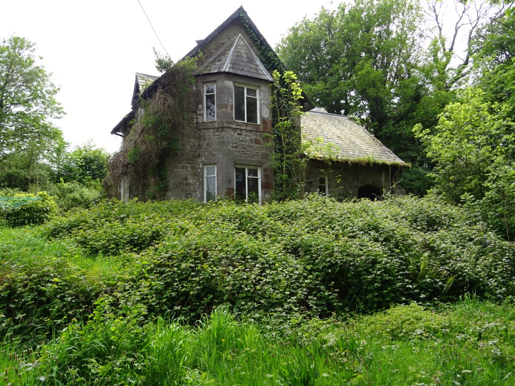 Image showing a derelict property for sale