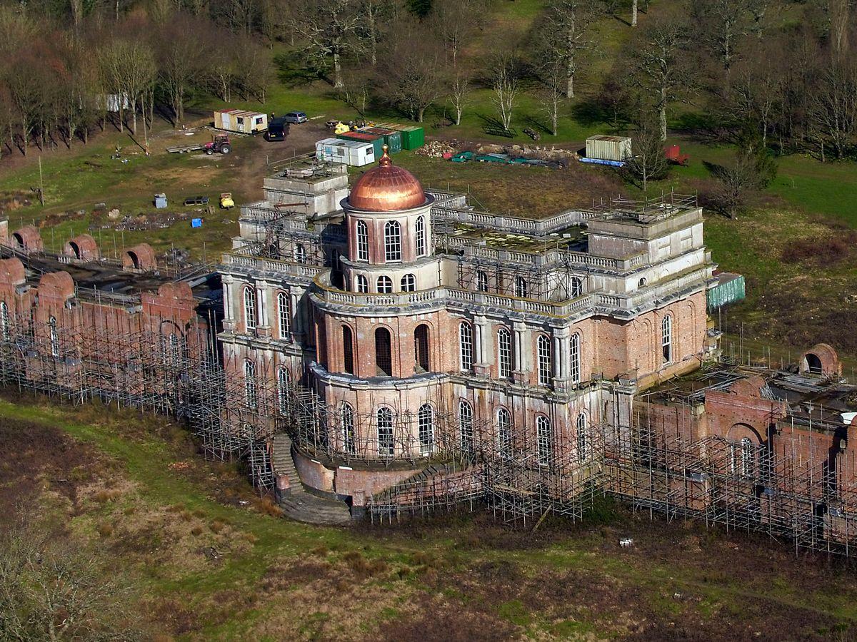 Image showing abandoned mansion Hamilton Palace