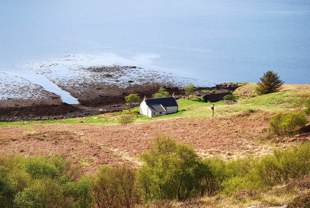 Image showing a remote rural property for sale in Scotland
