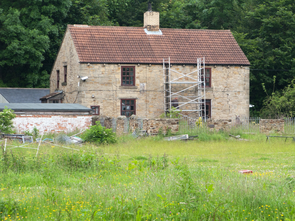 Image showing an unoccupied property being renovated